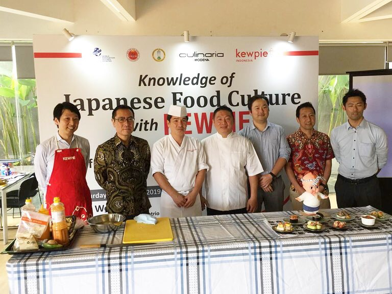 Japanese Food Knowledge by Kewpie Indonesia - Workshop